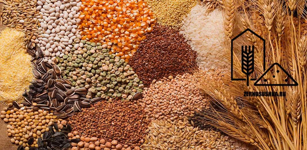 Типы зерносушилок